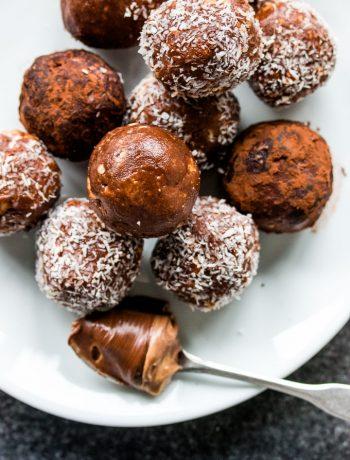 Nutella Peanut Butter Balls