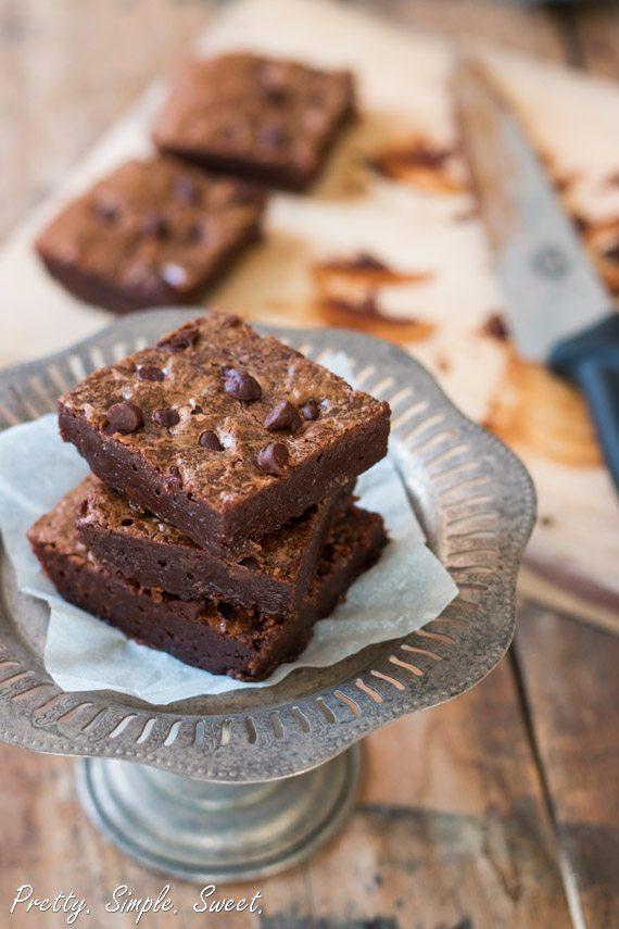 fudgy brownies 2