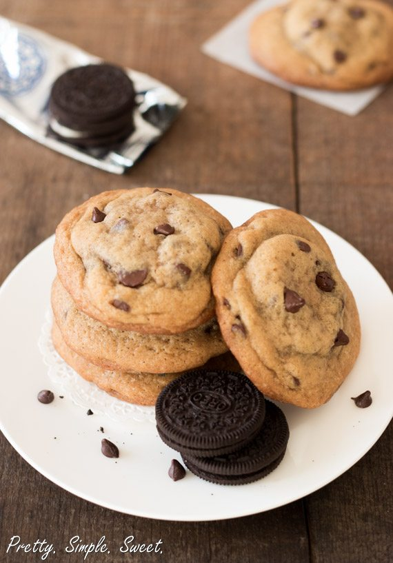Oreo Chocolate Chip Cookies 6