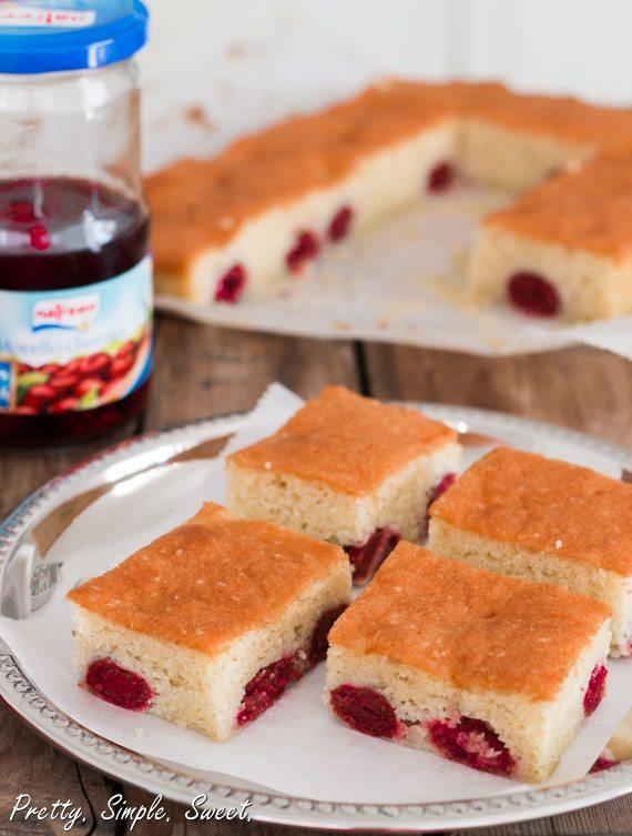 Almond Cherry Cake | Pretty. Simple. Sweet.