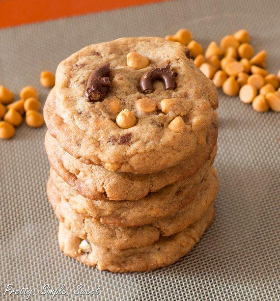 Pretzel Buttescotch Pudding Cookies
