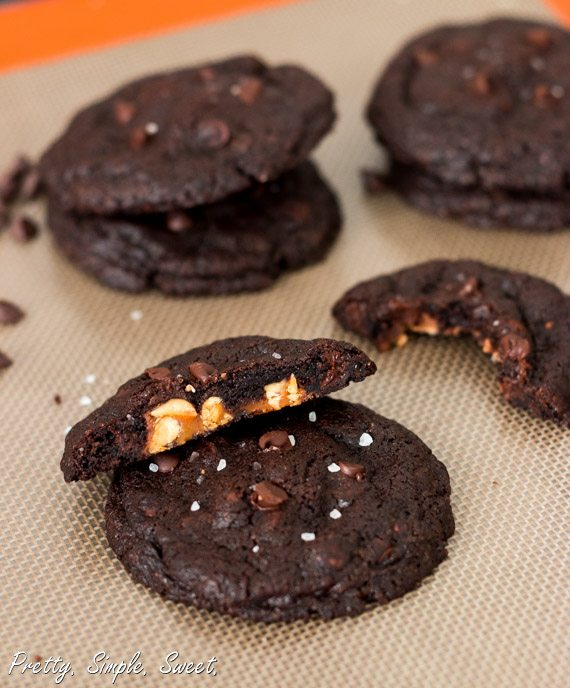 Snickers Chocolate Cookies 4