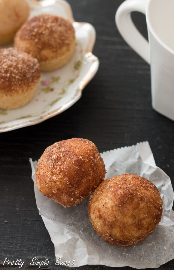 Baked Donuts Holes Muffins (6)