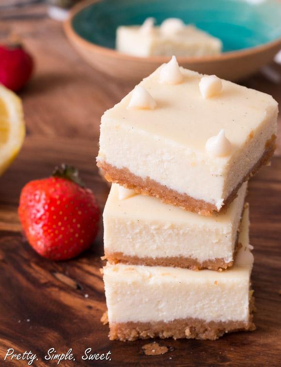 Lemon White Chocolate Cheesecake (3)