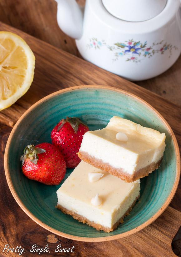 Lemon White Chocolate Cheesecake (5)