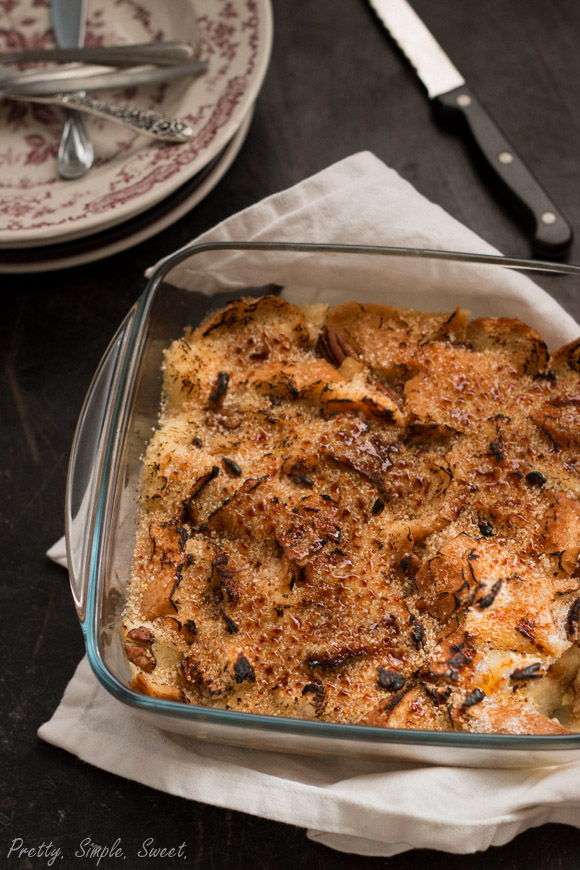 Brulee Bread Pudding