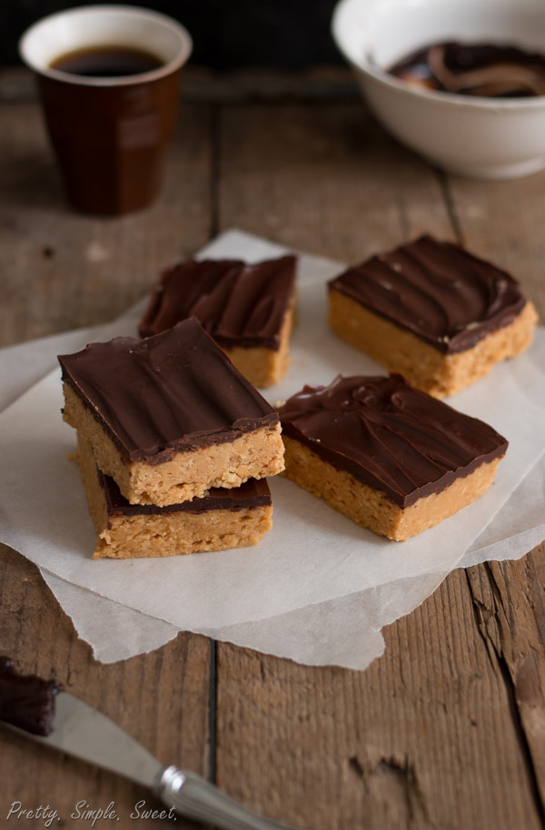 No Bake Chocolate Peanut Butter Bars Pretty Simple Sweet