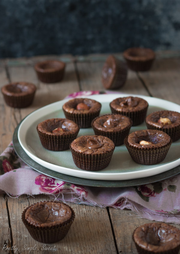 4 Ingredient Nutella Muffins Pretty Simple Sweet