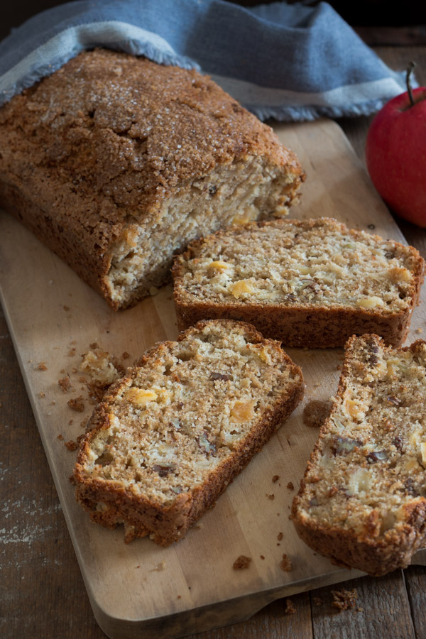 This applesauce bread is super moist and makes a wonderful breakfast treat!
