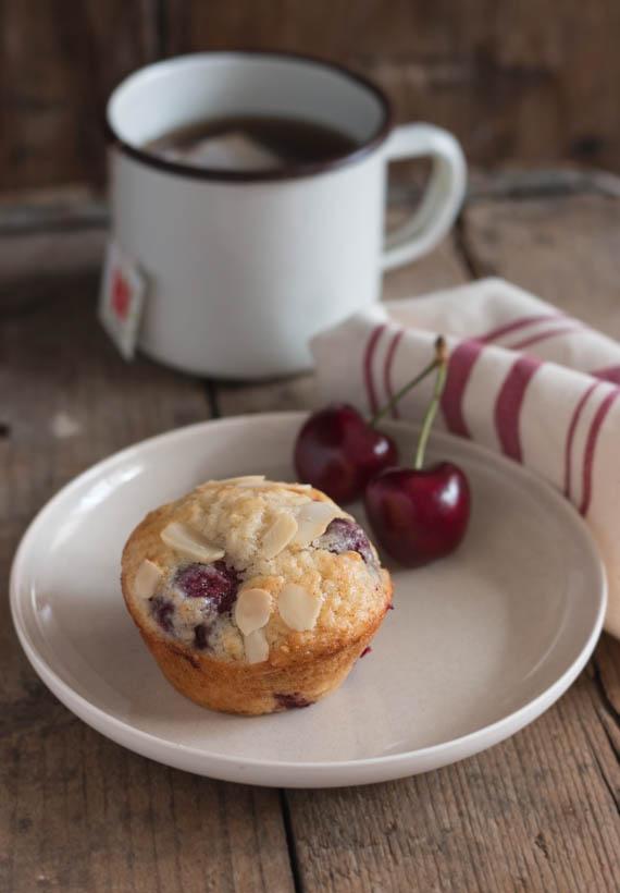 Cherry Almond Muffins (3)