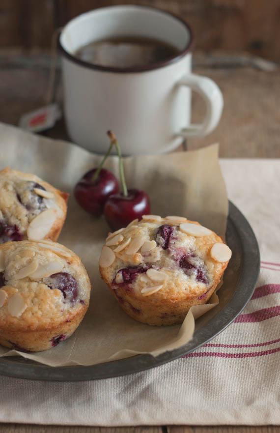 Cherry Almond Muffins (4)