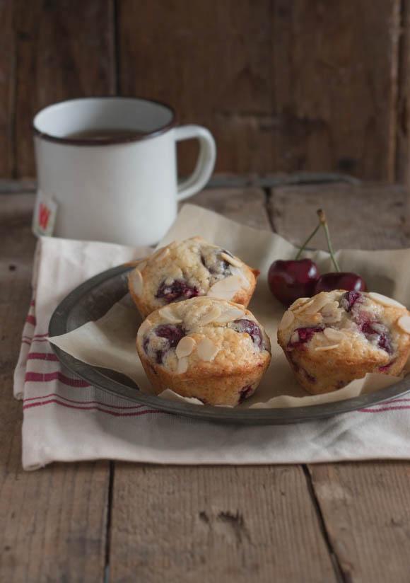 Cherry Almond Muffins (5)