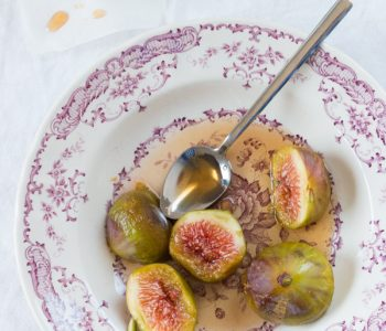 Honey Poached Figs