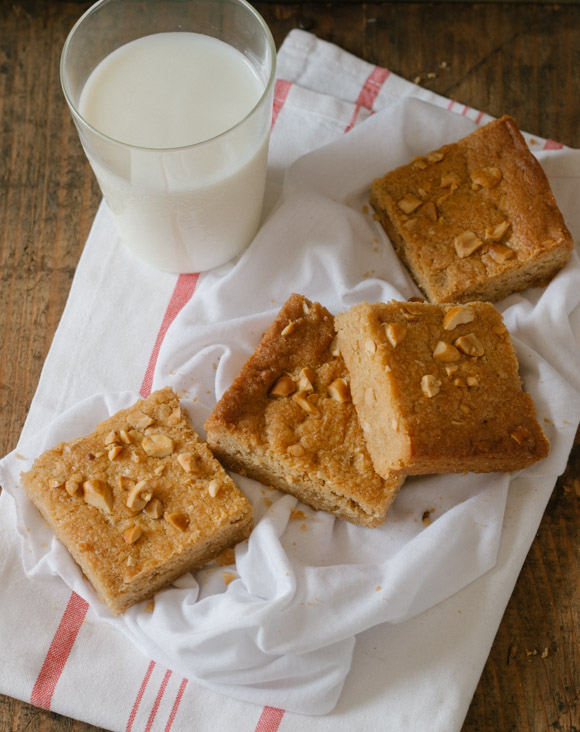 Peanut Butter Blondies (2)