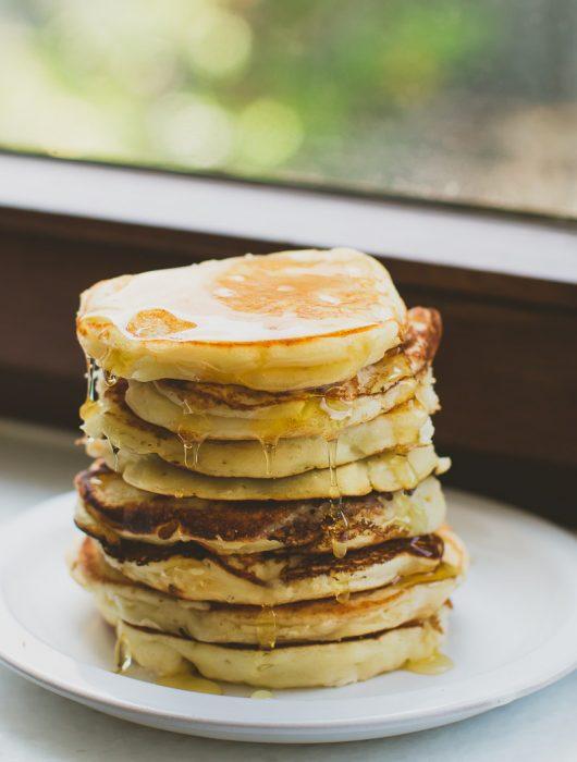 Classic Milk or Buttermilk Pancakes