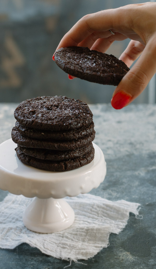 Chocolate Sable Cookies