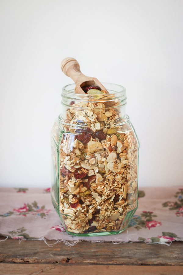 This granola is packed with a ton of wonderful ingredients that make it both healthy and delicious.