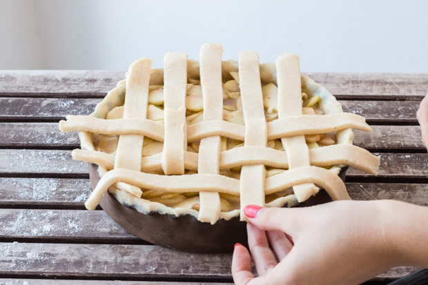 Lattice Top Pie Crust (10)