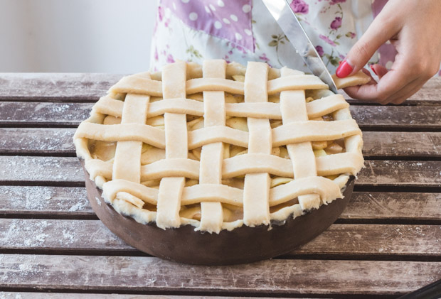 Lattice Top Pie Crust (13)
