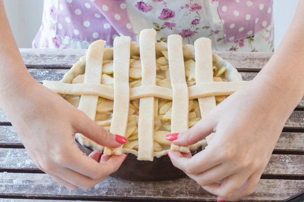 Lattice Top Pie Crust (5)