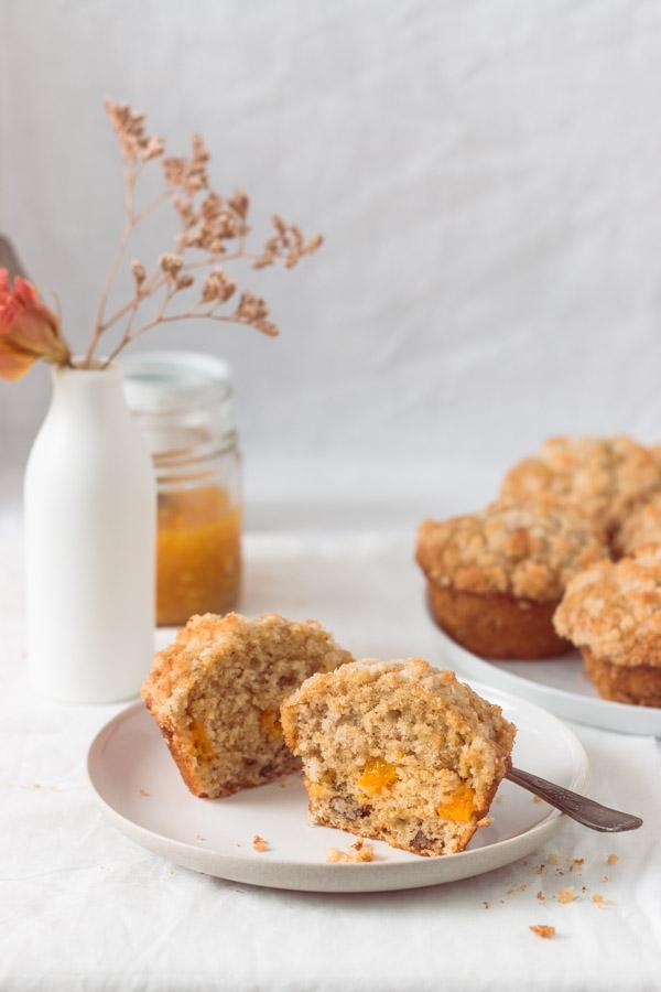Mango Bread Muffins Coconut Streusel (4)