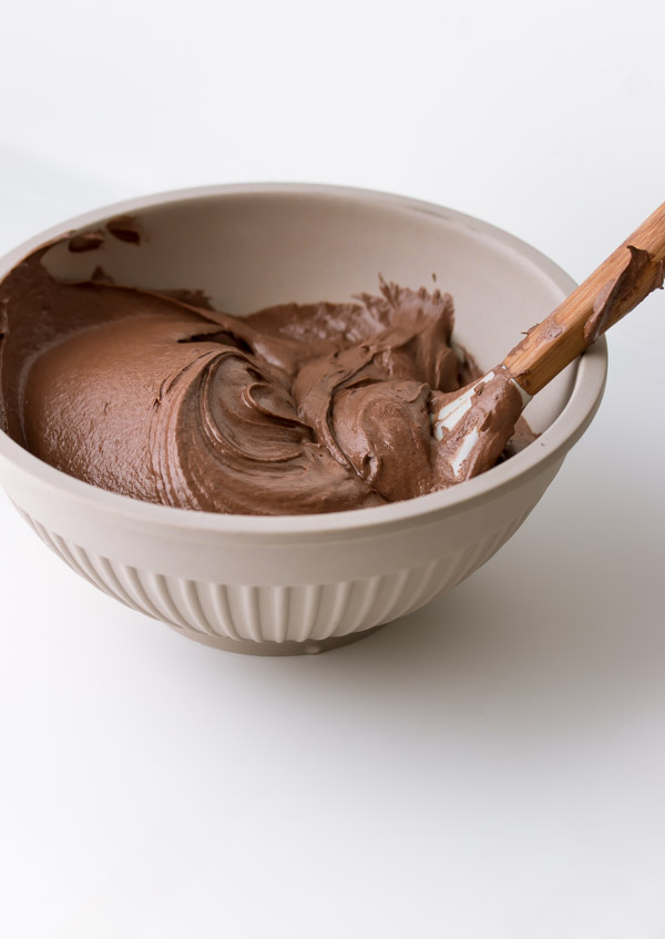 This creamy, smooth, shiny chocolate frosting is my absolute favorite ...