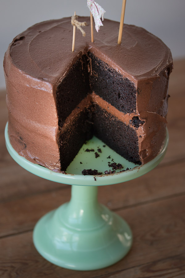 Chocolate Fudge Frosting For Layer Cake