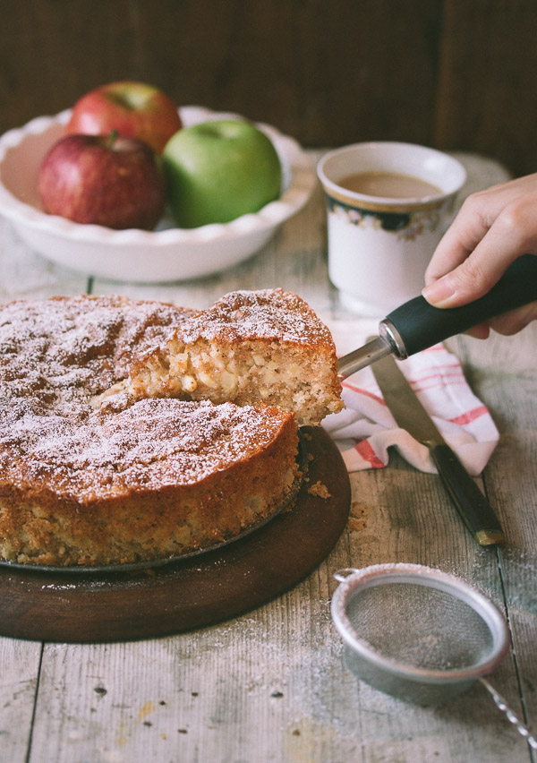 Easy Apple Cake Recipe Uk