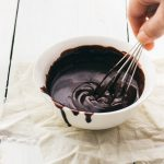 2-ingredient chocolate ganache - perfect as a filling or for glazing desserts such as cakes | prettysimplesweet.com