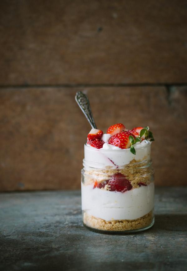 Individual No Bake Cheesecake Pretty Simple Sweet