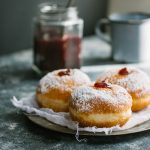 An old-fashioned recipe for soft jelly doughnuts| prettysimplesweet.com