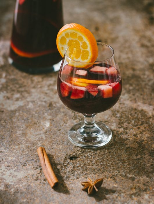 Perfect (cold or warm) red sangria | prettysimplesweet.com