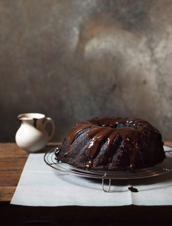 Chocolate Sour Cream Bundt Cake | prettysimplesweet.com