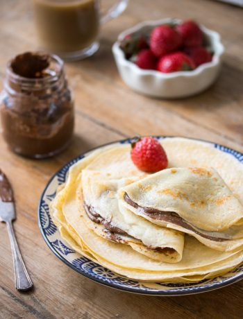 Basic Crepes Recipe | prettysimplesweet.com