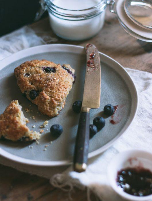 Perfect Blueberry Scones | prettysimplesweet.com