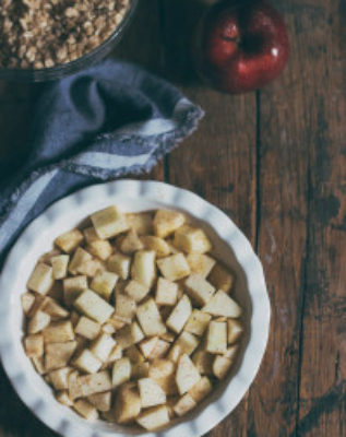 Perfect Apple Crumble | prettysimplesweet.com