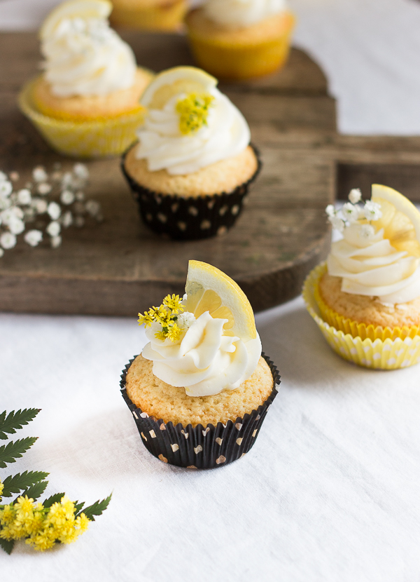 The Most Amazing Lemon Cupcakes Pretty Simple Sweet