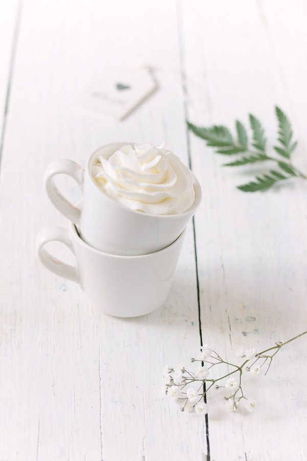 Homemade Whipped Cream | prettysimplesweet.com