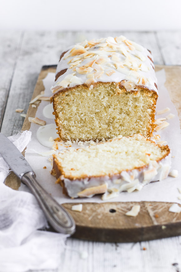Perfect Coconut Tea Cake | prettysimplesweet.com