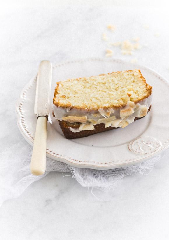 Perfect Coconut Tea Cake | prettysimplesweet.com