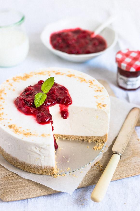 Perfect No Bake Cheesecake Prettysimplesweet Com