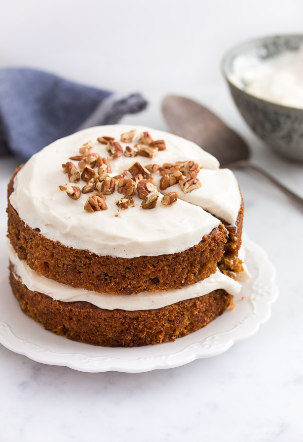Meaning of make of carrot cake day before