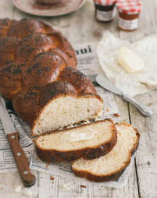 How To Make Challah Bread | prettysimplesweet.com