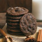 Chewy Gooey Chocolate Ginger Cookies | prettysimplesweet.com