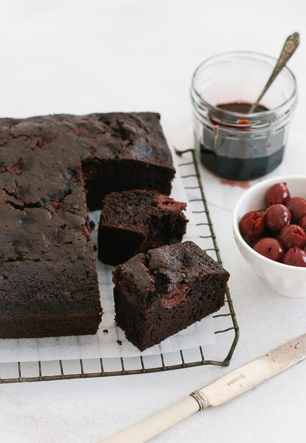 Chocolate Cherry Cake Pretty Simple Sweet