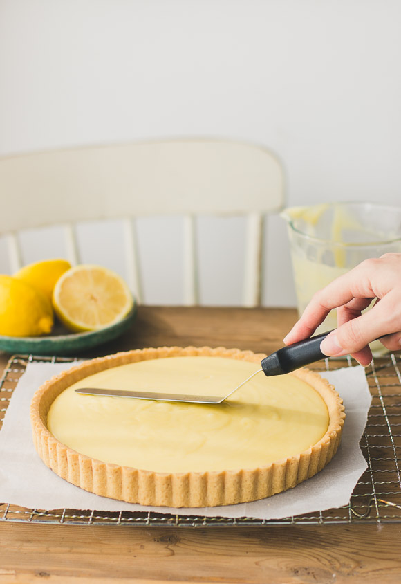 Perfect Creamy Lemon Tart