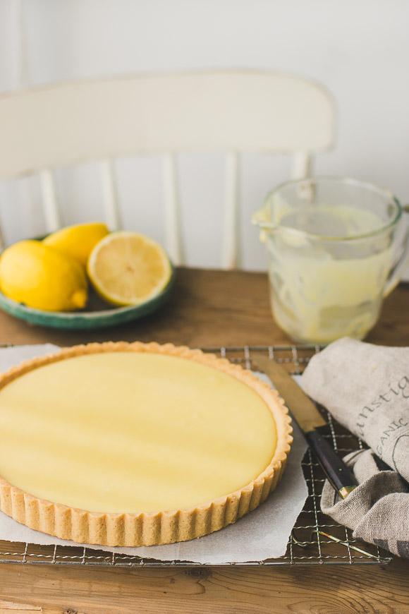Perfect Creamy Lemon Tart | prettysimplesweet.com