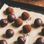 Addictive chewy chocolate caramel truffles