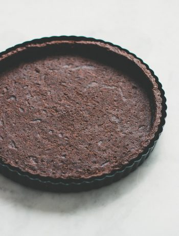 Chocolate tart dough recipe with many tips to help you make it perfectly!