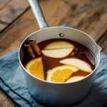 Mulled Apple Cider (with or without wine)